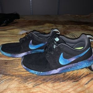 Custom Galaxy Nike Roshe Runs